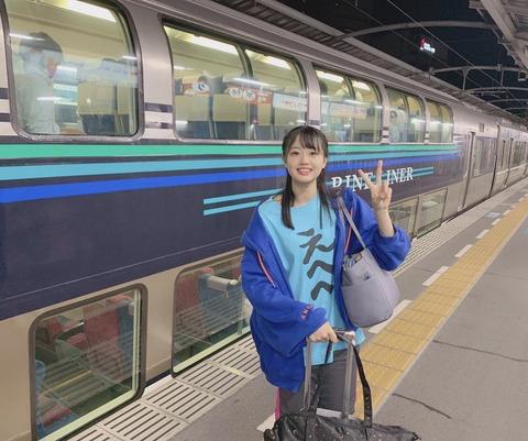 【STU48】瀧野由美子さんの私服www【ANDGEEBEE】