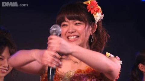 【定期】SKE48山内鈴蘭がまたチームS公演で事故
