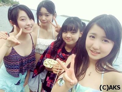【朗報】遂にチーム8メンバーの水着が解禁!!!【画像あり】