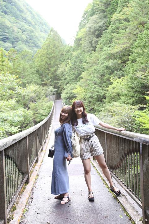 【NMB48】石田優美さん、オ〇パイが透け透けwwwwww