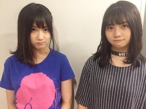 【画像】SKE48のビジュアル2トップ!!!【水野愛理・小畑優奈】
