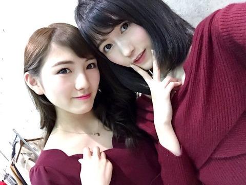 【AKB48】まゆゆとなぁちゃんの王道ツーショットキタ━━━m9( ゚∀゚)━━━!!【渡辺麻友・岡田奈々】