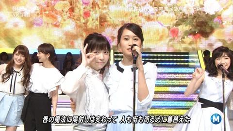 【AKB48】Mステのあつぱるに涙がでてきた【前田敦子・島崎遥香】