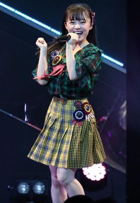 【HKT48】「大島優子の再来か」ファンがざわつく上島楓(18)の魅力