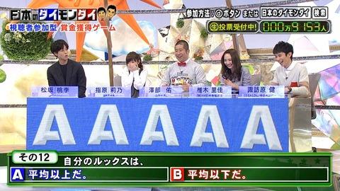 【日本のダイモンダイ】指原莉乃、自分のルックスを平均以上と認識【キャプ画像あり】