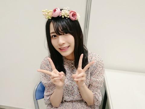【AKB48】23歳の誕生日を迎えた佐々木優佳里さんに一言どうぞ