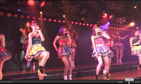 【朗報】AKB48 LIVE!! ON DEMANDの画質が超絶良化【オンデマ】