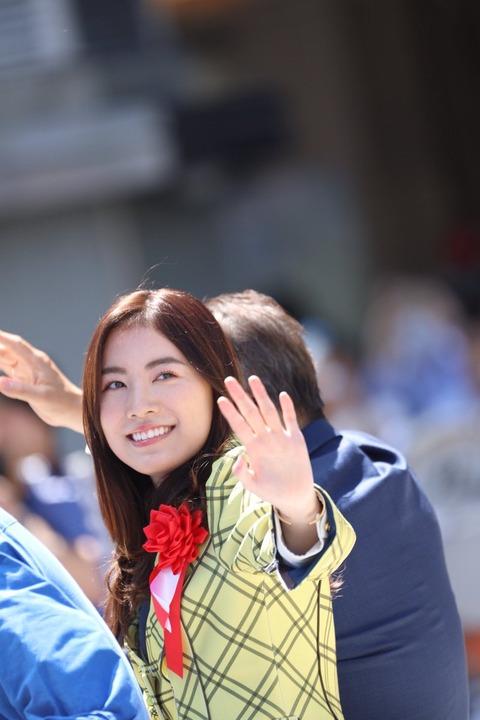 【悲報】SKE48松井珠理奈さんのパレード、観衆「シーーーン」