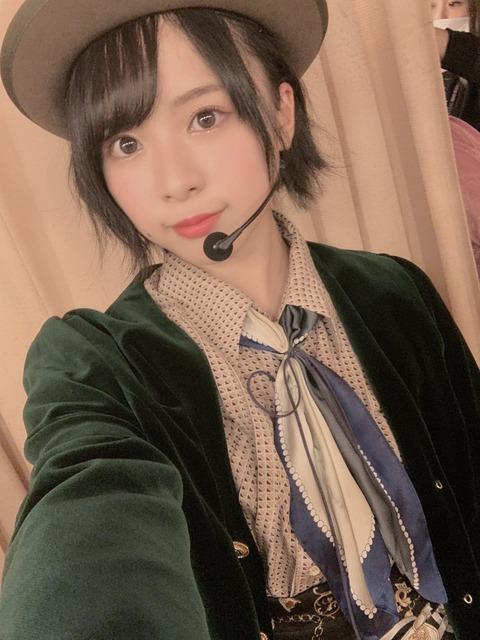 【悲報】チーム8倉野尾成美ちゃんが劇場公演で熊本ツアーを必死に宣伝