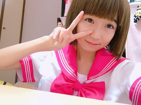 【HKT48】今村麻莉愛(14)がJKコスプレした結果wwwwww