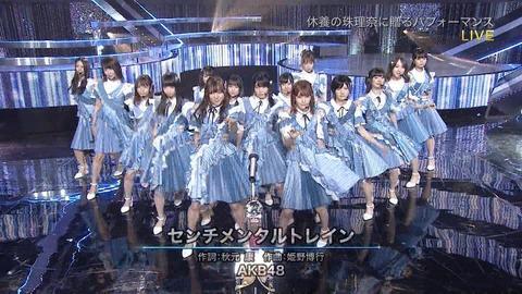 【悲報】AKB48「センチメンタルトレイン」握手売上が完全に終わる