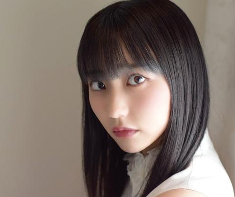 【HKT48】田中美久の黒髪ストレートヘアに「日本の美」と絶賛の声