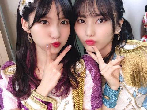 【AKB48】谷口めぐvs福岡聖菜