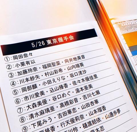 【悲報】AKB48の全国握手会の動員がイコラブレベルまで落ち込む