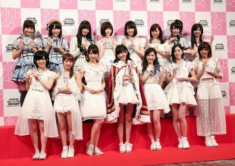 【AKB48総選挙】1人何票でも投票できる総選挙ではなく、1人一票の完全ガチンコ人気投票をやってほしい