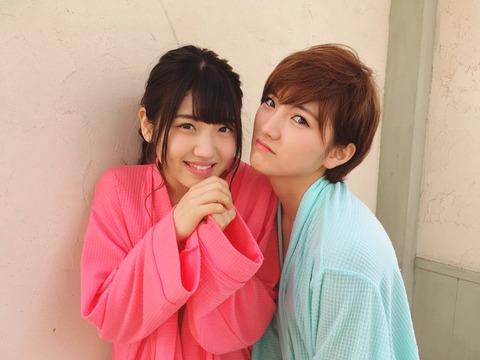 【AKB48】ついにゆうなぁのグラビアが実現!ゆいりんごは食べられてしまうのか!?【村山彩希・岡田奈々】