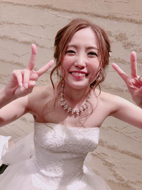 【元SKE48】古川愛李の結婚式の模様がこちら。現役、元メンバーも多数参加