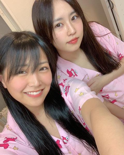 【NMB48】白間美瑠とアホ(古賀成美)のすっぴん画像が話題にwww
