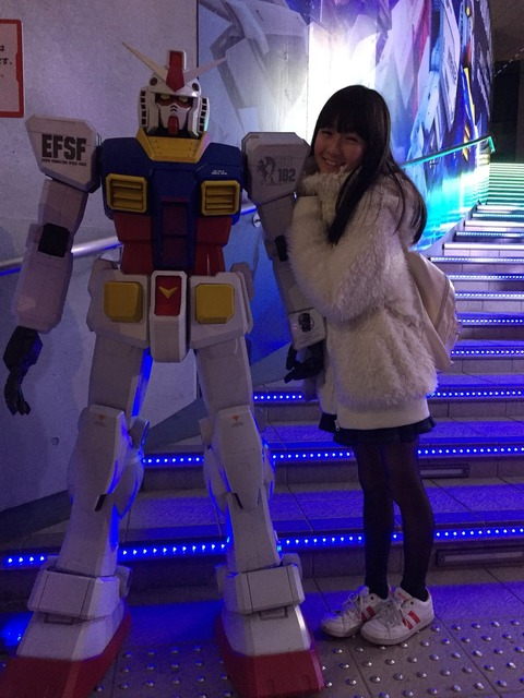 【HKT48】今村麻莉愛「#娘がガンダムの彼女になってきた に使っていいよ」www