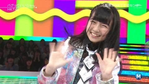 【朗報】HKT48今村麻莉愛ちゃん、Mステで推される!!!