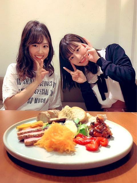【AKB48】岡田奈々が内山奈月と浅井七海を引き合わせる