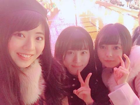 【AKB48】まちゃりん、ひーわたん、なぎちゃんが一緒にイルミネーションを見に行く!【馬嘉伶・樋渡結依・坂口渚沙】