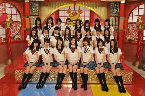 【悲報】SKE48のテレビ出演時間がモー娘。以下・・・
