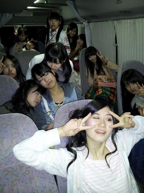 【NMB48】藤江れいな「NMBは名古屋にはバス移動」