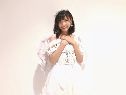 【朗報】せいちゃんが本物の天使になる【AKB48・福岡聖菜】