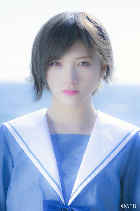 【画像】岡田奈々のプロフィール写真、AKB48とSTU48で完全に別人なんだがwww