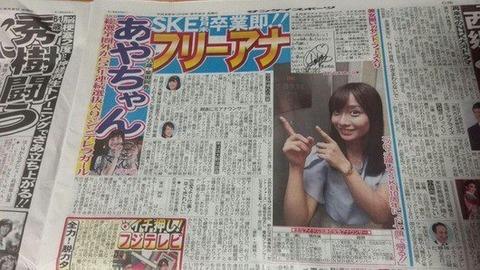 【元SKE48】柴田阿弥ってアナウンサーっていうよりタレントじゃない?