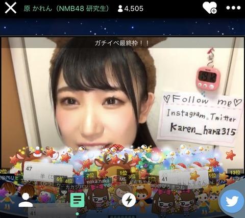【朗報】SHOWROOM・TGCイベントでNMB48が三連勝wwwwww