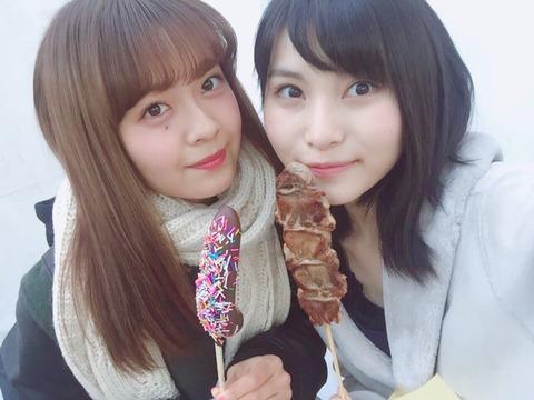【朗報】せいちゃんが太くて大きいアレをアレする【AKB48・福岡聖菜】