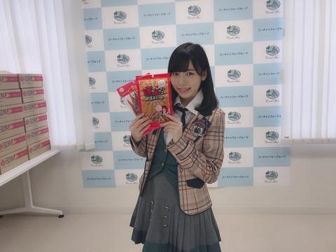【HKT48】運上弘菜さん、珍味お渡し会で見事珍味を完売させる!!!
