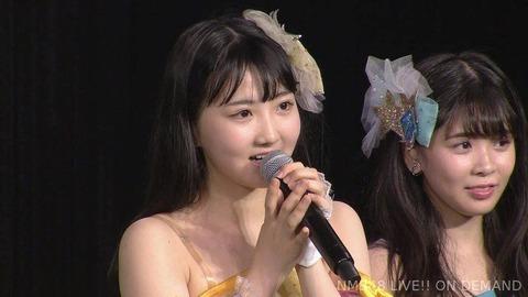 【NMB48】安藤愛璃奈が卒業発表。学業に専念するため