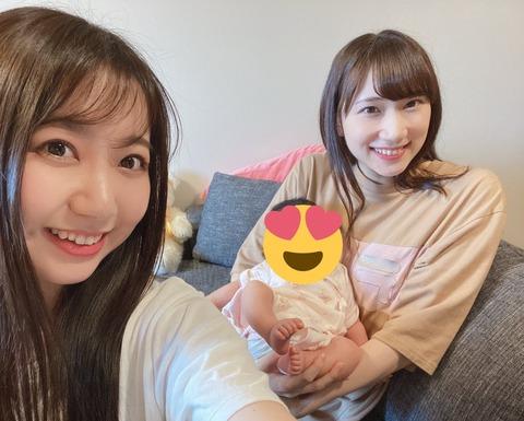【速報】元AKB48鈴木紫帆里さん、出産していた