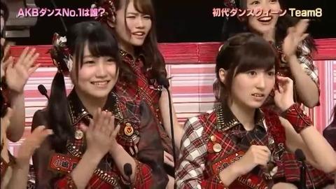 【AKBINGO】ダンス企画でチーム8が優勝した時の込山榛香の顔wwwwww