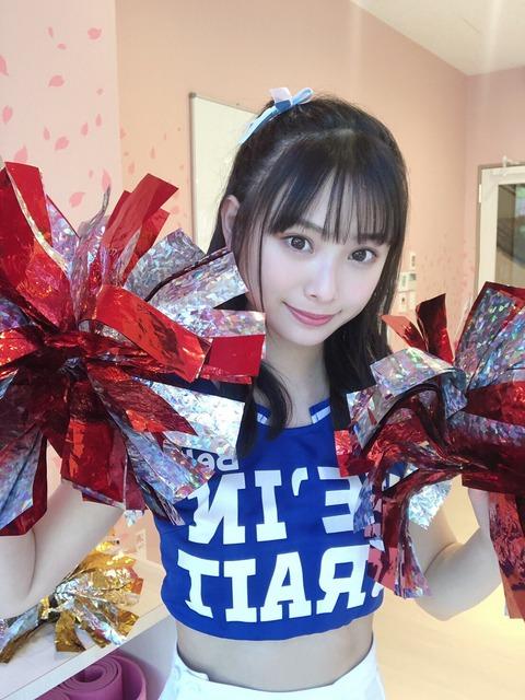【NMB48】梅山恋和&上西怜のえちえちチアダンス動画キタ━━━(゚∀゚)━━━!!