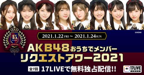 【AKB48】おうちリクアワでありそうなサプライズを予想するスレ