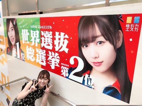 【AKB48総選挙】今年の真の勝者は珠理奈でも宮脇でもなく須田亜香里だよな