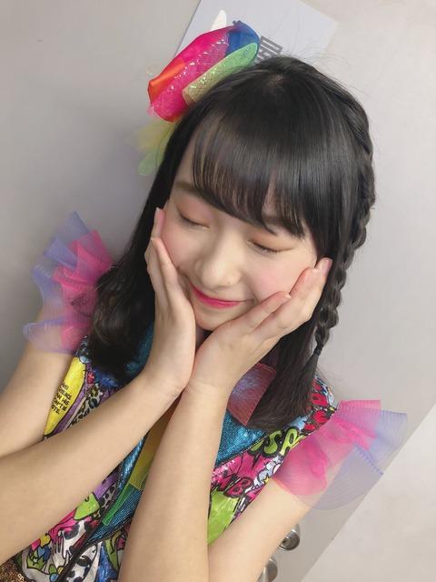 【有能】NMB48三宅ゆりあちゃん、公演中止で悲しむヲタの為に公演気分を味わえる動画をお届け