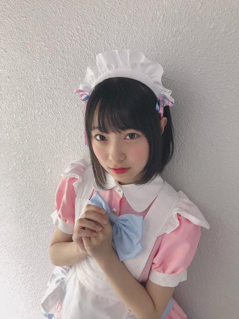 【NMB48】三宅ゆりあちゃん、メイドコスプレで可愛さ限界突破してしまう!