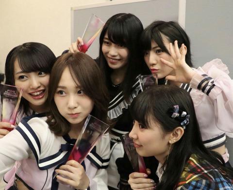 【AKB48】次期総監督候補が「高橋朱里」「岡田奈々」「向井地美音」「岡部麟」の4人に絞られたわけだが