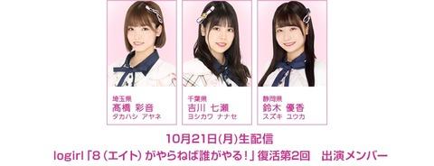 【朗報】チーム8新静岡「鈴木優香」ちゃんゴリ推しスタート!!!