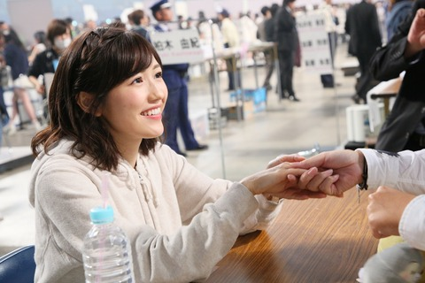 【AKB48G】握手会に行くと自分の話の下手さとつまらなさを実感するよな