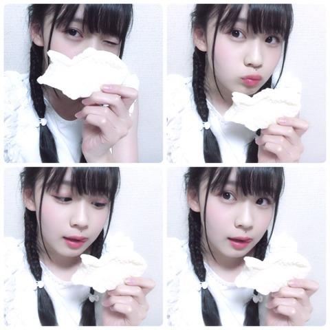 【HKT48】荒巻美咲「たい焼きはしっぽから食べる?頭から食べる?」