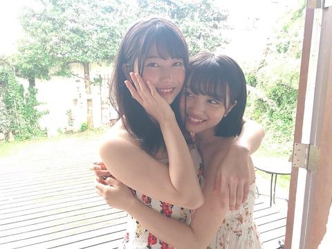 【AKB48】ゆいはんとみーおんがBOMBの撮影やったみたいだけど水着じゃないっぽいんだが・・・【横山由依・向井地美音】