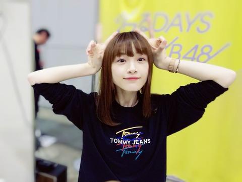 【NGT48】アヤカニこと太野彩香さん、握手会でWピースで勝利宣言
