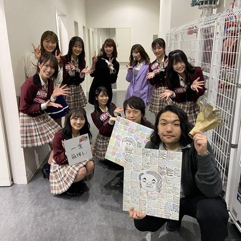 【悲報】昼方NMB48+、MCの見取り図が卒業