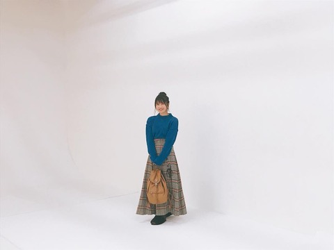 【AKB48】ゆいはんが、オール私服、私物で「nonno」の撮影に挑むwww【横山由依】